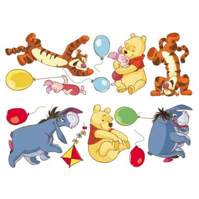 Disney Winnie the Pooh Bother Free Day Wall Sticker DF40222B