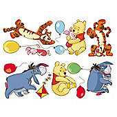 Disney Winnie the Pooh Bother Free Day Wall Sticker DF40222B