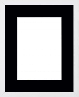 Buy Webber White 18x14 Frame With Black 14x10 Mount From Our All