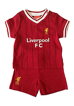 Liverpool FC Baby T-Shirt & Shorts - Red