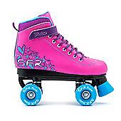Vision II Pink Quad Skate - Size 3