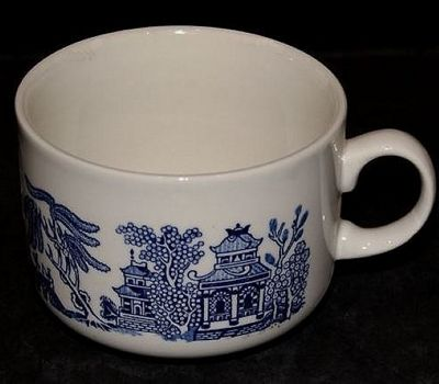 Churchill Blue Willow Jumbo Mug