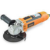 VonHaus 650W Angle Grinder 115mm with 6 Speeds, Safety Guard & Support Handle