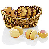 Molly Dolly Deluxe Bread Basket and Wooden Bread Set