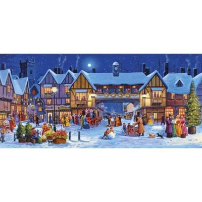 Christmas In The Square 636 Piece Jigsaw