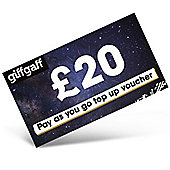 giffgaff £20 mobile Top Up