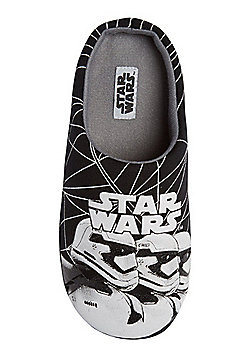 Star Wars Stormtrooper Slippers - Black