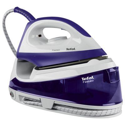 Tefal SV6020 Fasteo Steam Generator - Purple & White