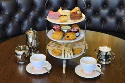 Afternoon Tea for Two at Patisserie Valerie Plus Cake Gift