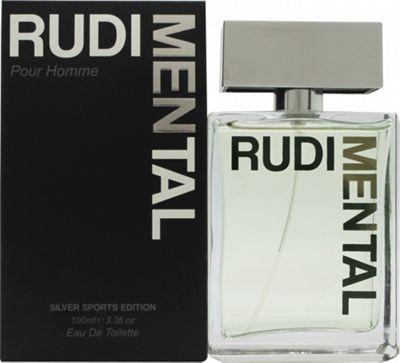 Rudimental Silver Sports Edition Eau de Toilette (EDT) 100ml Spray For Men