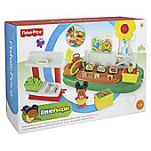 FISHER PRICE LP FARM & HOUSE MID PLAYSET ASST