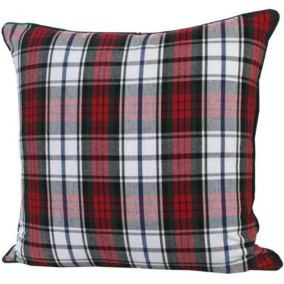 1f6a7e4ff2cfa Buy Homescapes Cotton Macduff Tartan Cushion Cover