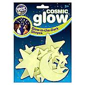 Cosmic Glow Moon & Stars