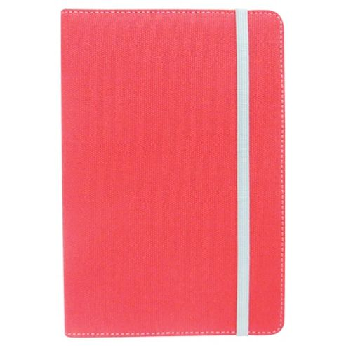 Tesco Finest Canvas Case for Hudl/Kindle Fire - Coral