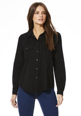 Noisy May Kendall Utility Shirt S Black