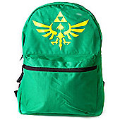 Nintendo Legend of Zelda Reversible Backpack, Green/Black - Accessories