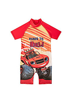Blaze And The Monster Machines Boys Surf Suit - Red