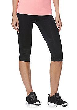 F&F Active Quick Dry Capri Leggings - Black