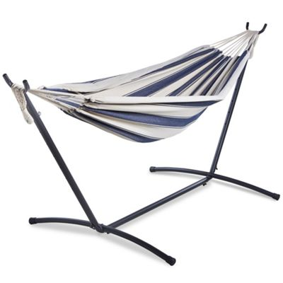 two person hammock with stand. VonHaus 2 Person Hammock With Stand Two E