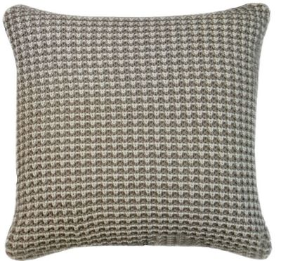 Grey Topaz Cushion with Soft Feather Fill Living Area Decor