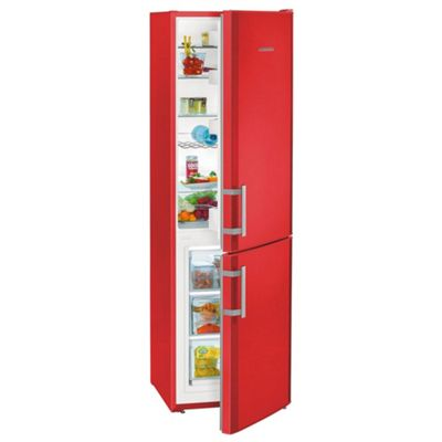Liebherr CUFR3311 55cm Freestanding Fridge Freezer in Red