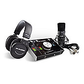 M-Audio M-Track 2x2 Vocal Studio Pro Production Package (Mic, Headphones, Leads)