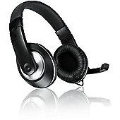 SPEEDLINK THEBE CS Binaural Head-band Black headset PC microphone 2m