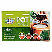 Mr Fothergill's Chives Herb Garden Plant Pot Topper