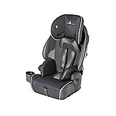 Baby Elegance High Back Booster Car Seat with harness, Group 1-2-3, Black