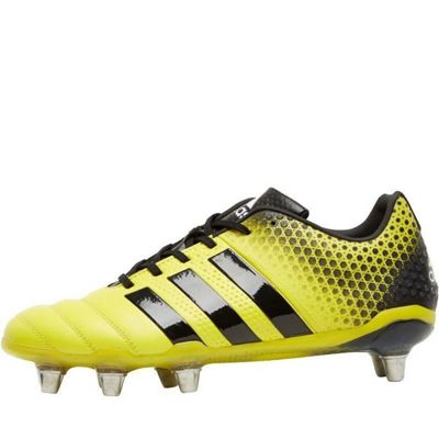 adidas Adipower Kakari 3.0 SG miCoach Compatible 8 Stud Rugby Boots - 14