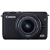 Canon EOS M10 CSC Camera Kit inc 15-45mm Lens Black