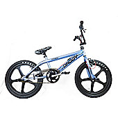 "Rooster Big Daddy Kids BMX Bike 20"" Black Skyway Mag Grey Gyro"
