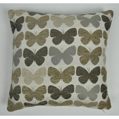 Mason Gray Graze Natural Cushion Cover - 43x43cm