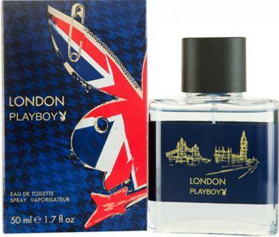 Playboy London Eau de Toilette (EDT) 50ml Spray For Men