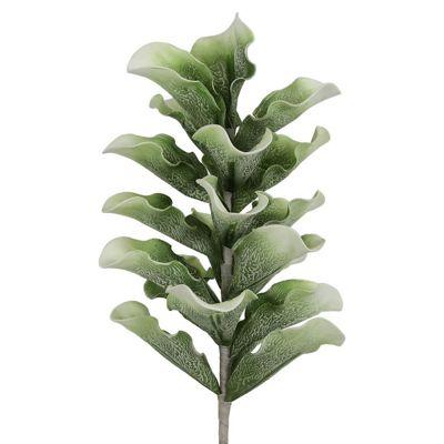 103cm Foam Leafy Spray Green