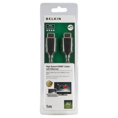 Belkin HDMI A/A Ulra-thin Cable 2M for laptops/Netbook