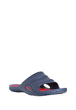 F&F Moulded Pool Sliders - Navy