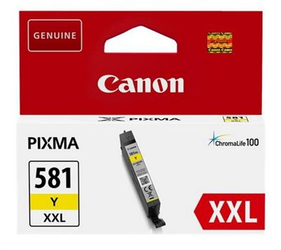 Canon CLI-581Y XXL 11.7ml Yellow ink cartridge
