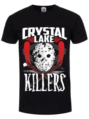 Crystal Lake Killers Men's T-shirt, Black.