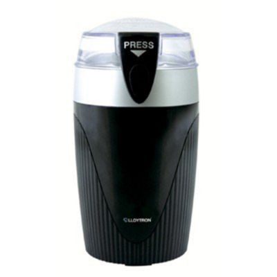 Lloytron Kitchen Perfected E5605BK 120W Coffee/Spice Grinder - Black and Silver