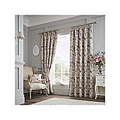 Curtina Purple Berrington Pencil Pleat Curtains - 130x90 Inches (335x229cm)