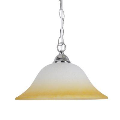 Modern Ceiling Chain Light Fitting, Chrome