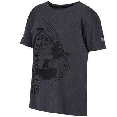 Regatta Boys Heatshield T-Shirt Grey 5-6