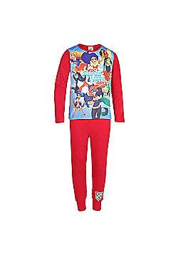 DC Comics Superhero Girls Kids Pyjamas - Red
