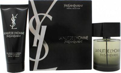 Yves Saint Laurent La Nuit de L'Homme Gift Set 100ml EDT + 100ml Shower Gel For Men