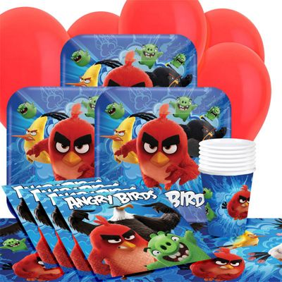 Angry Birds Party Pack - Value Party for 8