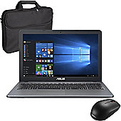 """ASUS X540SA 15.6"""" Laptop Intel Pentium N3700 4GB 1TB With Wireless Mouse & Case"""