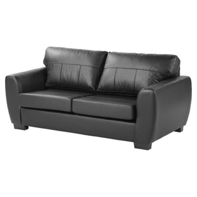 Ernest Large 3 Seater Sofa, Black