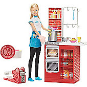 Barbie Spaghetti Chef Playset