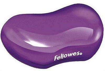Fellowes 91477-72 Purple wrist rest Crystal Gel Flex
